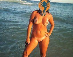 Fotos da esposa peladas em praias