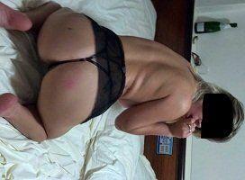 Fotos da namorada magrinha de lingerie
