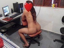 Fotos esposa pelada no escritório