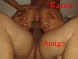 Fotos de sexo amador da Karen esposa de corno