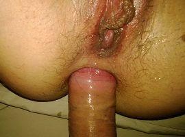Comedor de esposa no sexo anal