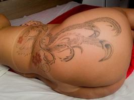 Fotos caiu na net da bunduda gostosa tatuada