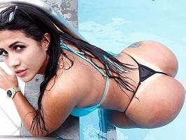 Karen morena gostosa brasileira em fotos nude
