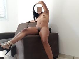 Fotos da namorada morena magrinha pelada