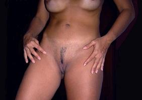 Fotos da esposa mostrando a buceta depiladinha