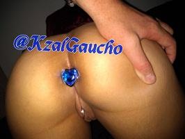 Ksal Gaucho e sua esposa novinha em fotos de sexo