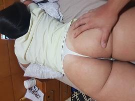Minha esposa em fotos caseiras pelada