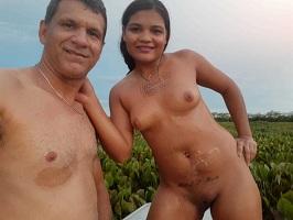 Tigresa e seu marido em fotos de sexo amador
